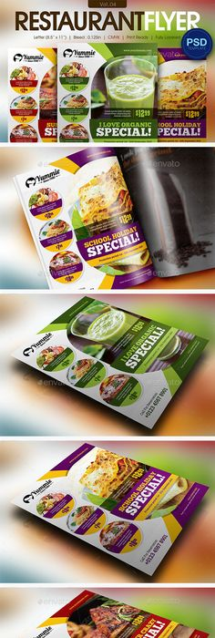 Burger Restaurant Flyer Template  Restaurant Flyers  Flyer