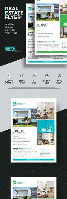 100 Free Real Estate Flyer Psd Templates Download Real Estate