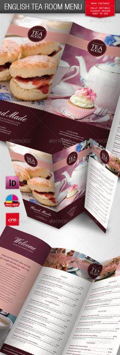 Green Food TriFold Brochure  Tri Fold Brochure Template Tri