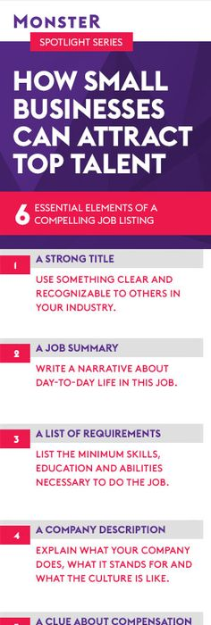 Learn how to write a winning job description! For more tips