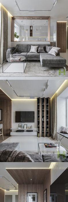Minimalistic Apartment In Ivano_Frankivsk   Галерея 3ddd.ru