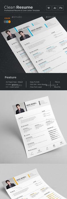 Resume  Cv Design Template Free Cover Letter Templates And Free