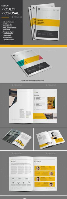 Proposal Template Suisse Design with Invoice on Behance Print this
