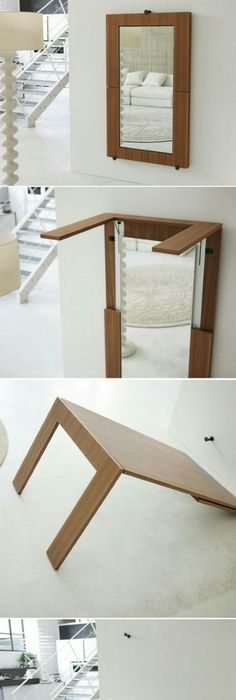DIY Furniture Plans U0026 Tutorials : Create Your Own Space Saving Craft  Station By Building This DIY Foldable Craft T