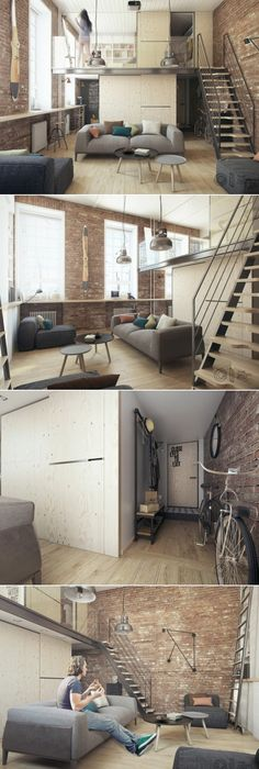 Fantastic loft studio apatments that you should not miss one bedroom apartment