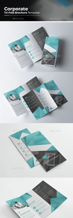 Medical TriFold Brochure Template Psd  A And Us Letter Size