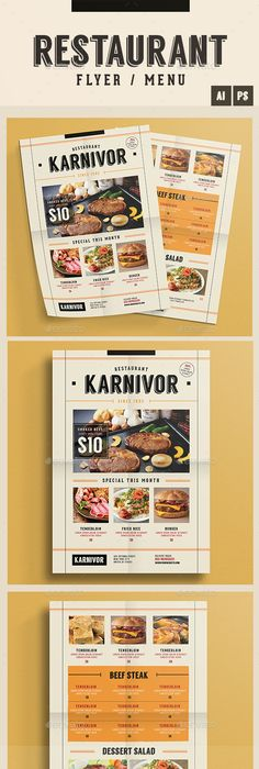 Typography Menu  Menu Food Menu And Print Templates