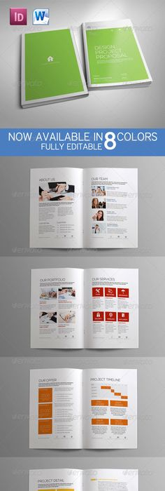 Proposal Template (Update MS Word Version) #GraphicRiver word