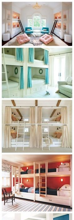 Bunk Room Inspiration...I May Have To Use This One Day Considering I