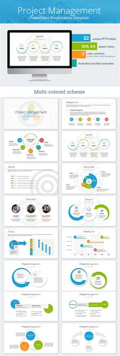 Risk management powerpoint template risk management management buy project management powerpoint presentation template by sananik on graphicriver project management powerpoint presentation template overview composition toneelgroepblik Gallery