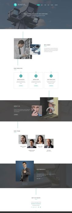 Investment Company Responsive Landing Page Template Investment - inspiration 10 statement template