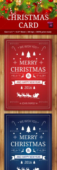 Christmas Party Flyer / Invitation Retro | Party flyer, Flyer ...