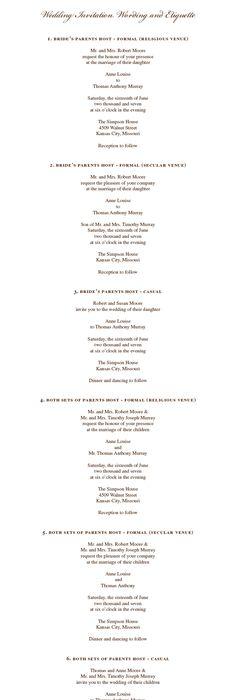Older couple wedding invitation wording wedding invitation wording wedding invitation wording and etiquette couple hosts secular venue number 11 filmwisefo Choice Image