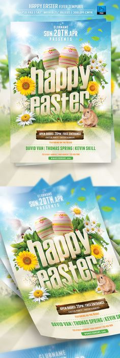 Easter Egg Hunt Flyer Template  Flyer Template Easter And Template