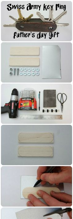 A do it yourself fathers day diy gift projects recipes and ideas this is a very clever and unique idea that dad will definitely keep for a very solutioingenieria Gallery