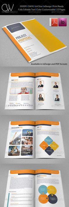 Commercial proposal template 20 pinterest proposal company proposal template vol2 cheaphphosting Gallery