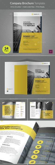 Architecture Brochure Brochures, Brochure template and Architecture
