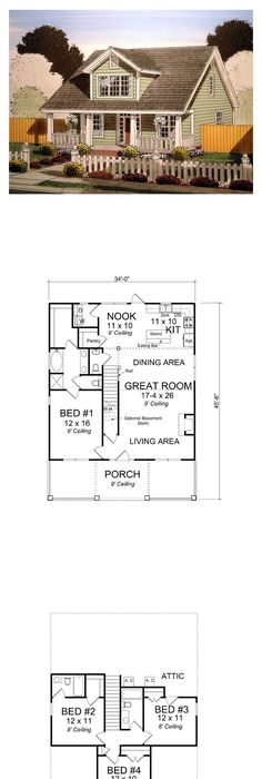 Cape Cod Country House Plan