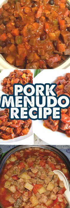 Pork Menudo Recipe (Menudong Baboy)
