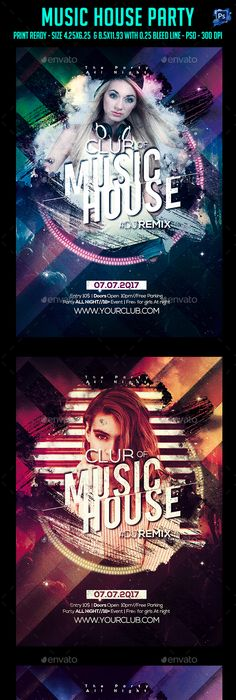 Free Summer Beach Party Flyer Psd Template  Free Psd Files
