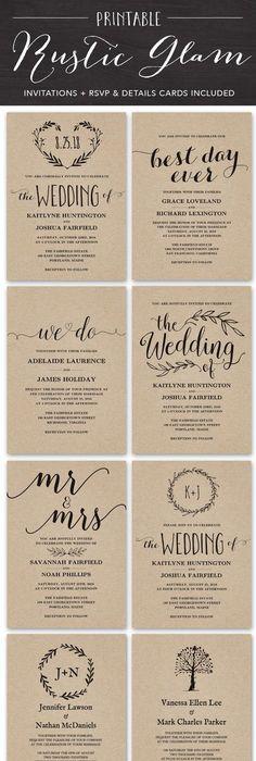 wedding invitations rustic best photos Wedding, Wedding summer and - best of sample invitation letter gathering