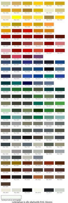 General Paint Color Chart Great For Picking Colors For Your Home