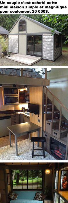 A Frame Cabin - Simple Solar Homesteading 14x14 with loft Little
