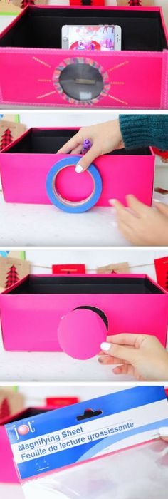 homemade smartphone projector ifunny good ideas pinterest