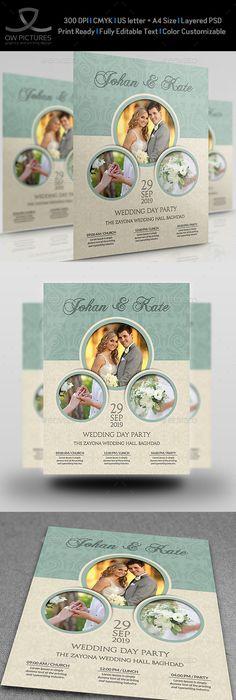 Chalkboard Wedding Invitation  Party Flyer Weddings And Wedding