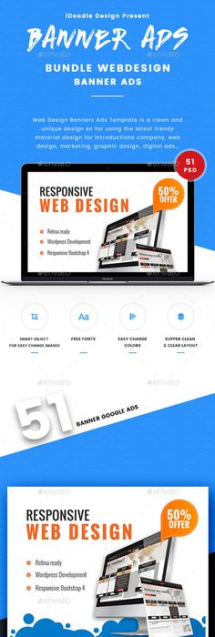 Multipurpose Banners Ads | Psd templates, Template and Web banners