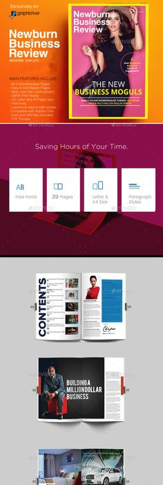 Magazine Newsletter Templates V  Newsletter Templates Template