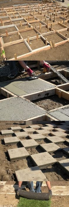 Make A Giant Chess Board In Your Backyard, Hardscaping, Landscaping, Built  In Lawn Games, Cool Idea If You Have The Space.