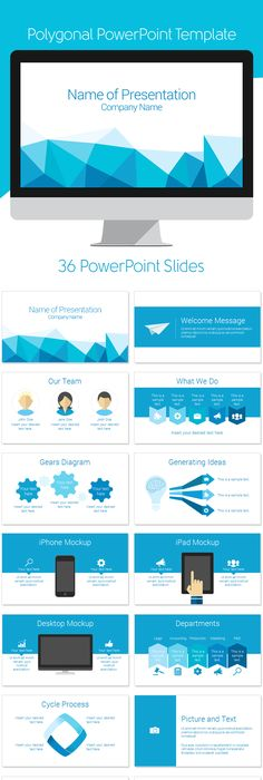 Company Profile Powerpoint Template Dark Blue Preview  Ppt
