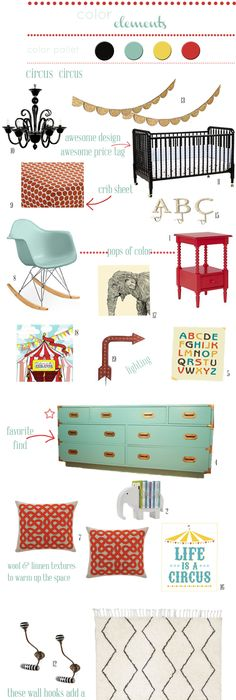My Vintage Circus Themed Nursery Inspiration Board | Colorful Circus/Carnival  Themed Nursery (Option 1!) | Pinterest | Themed Nursery, Nursery Inspiration  ... Nice Design