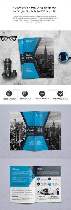 Fashion Bifold Brochure Corporate Brochure Design Brochures And
