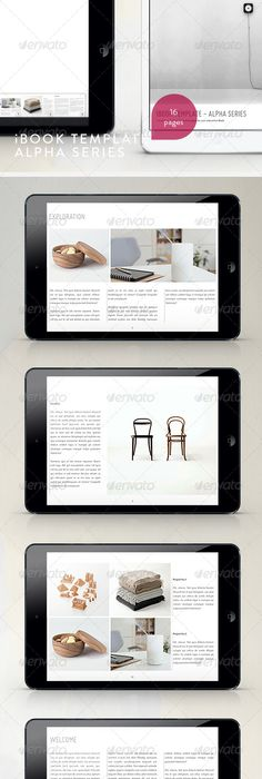 E-book Template 2 | Template, Graphics and Business flyers