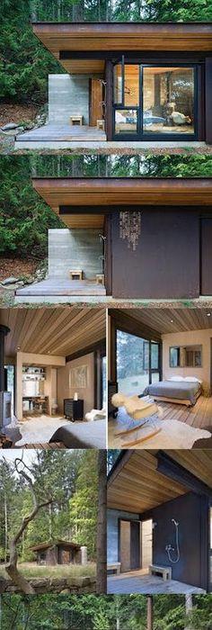 Bacheloru0027s Retreat On Salt Spring Island Designed By Olson Kundig Architects  Http://modernhousenotes