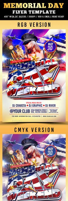 Flag Day 4th Of July Flyer Holidays Events Download Here Https