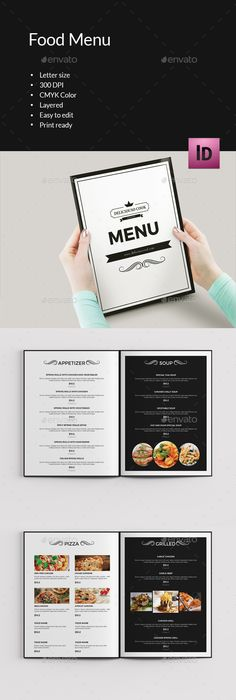 Retro Food Menu  Flyer  Retro Food Food Menu And Flyer Template