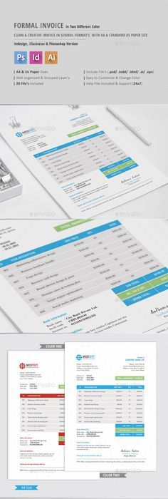 Invoice By CreativeSolution Creative Features Letter Size