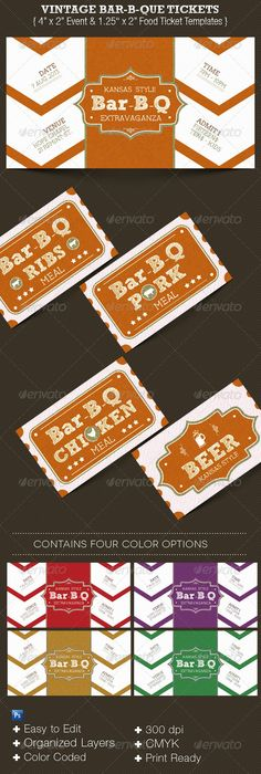Church Luncheon Ticket Template | Ticket template, Template and Churches