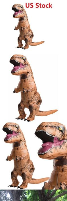 Unisex 86207 Inflatable Dinosaur Costume Adult T-Rex Jurassic Dress Cosplay Halloween Fancy(  sc 1 st  Pinterest : ebay dinosaur costume  - Germanpascual.Com