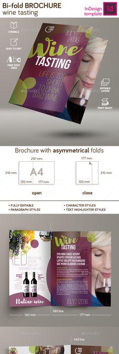 Print Design For Wine Design Team Building Folder Flyer And