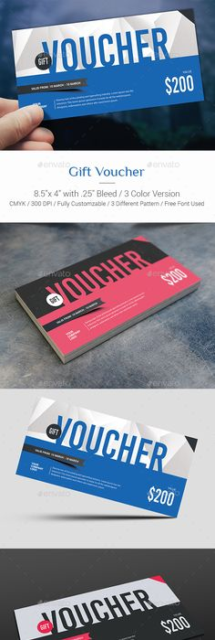 Set of gift voucher templates Template and Flyer template