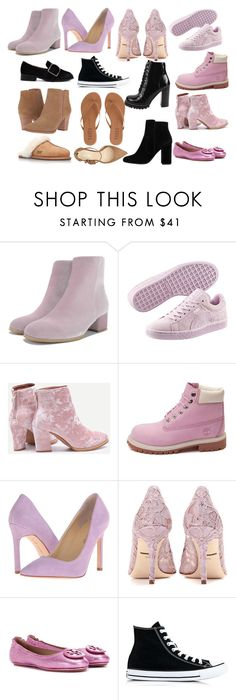 Ivanka Trump Tropica 6 (Azzurro/Azzurro) High Heels (€130) via Polyvore  featuring shoes, low shoes, ivanka trump shoes, low high heel shoes, lace u…