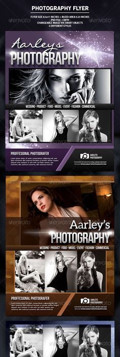 Photography Flyer Photography Flyer Layout Design And Flyer Template