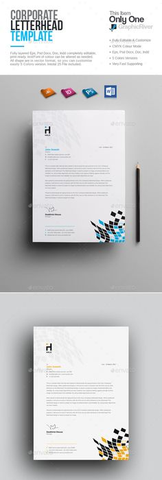 Letterhead letterhead template template and stationery printing spiritdancerdesigns Image collections