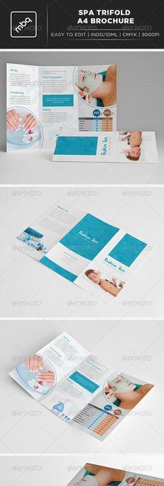 Spa Brochure Design  Brochures Spa And Logos
