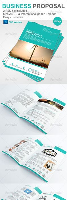 Project  Business Proposal Template  Business Proposal Template
