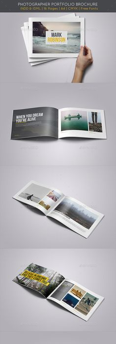 Square Travellia Brochure Templatesquare Print Ready Indesign